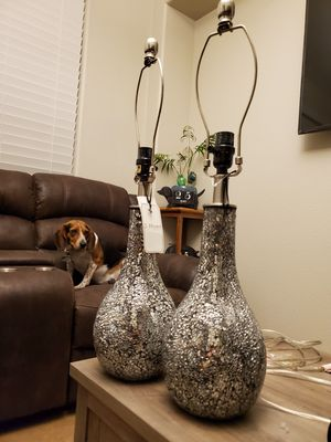 Mirrored mosaic lamp bases for Sale in Las Vegas, NV