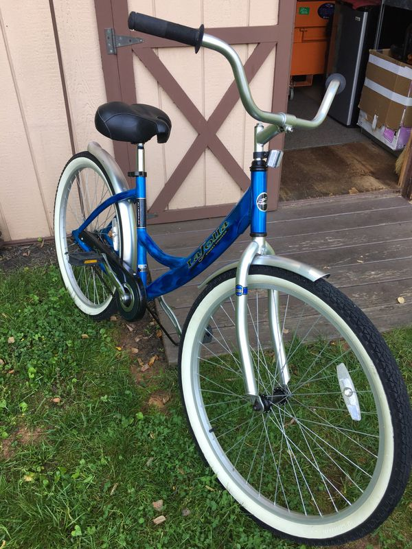 Blue LaJolla Street Cruiser Bike