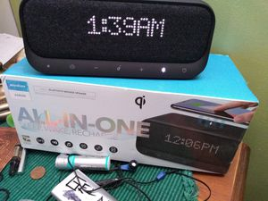 Soundcore bedside Bluetooth speaker. All in one brand new for Sale in Minneapolis, MN