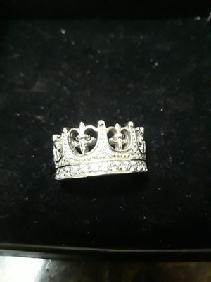 Crown ring with diamond for Sale in Fort Worth, TX
