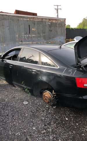Selling parts for a Black Audi A6 for Sale in Detroit, MI