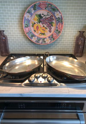 French Copper Skillet and Baking Dish for Sale in Brooklyn, NY