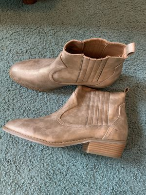 Gold Ankle Boots for Sale in Jackson, MS