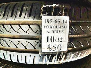 195 65 14 Used Tire for Sale in San Bernardino, CA
