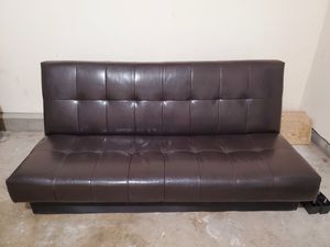 Leather Futon for Sale in Chula Vista, CA