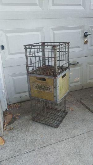 '3' Vintage Crates. $10 for All for Sale in Dallas, TX