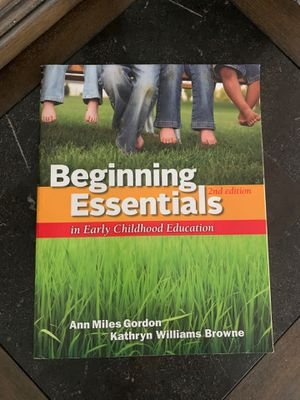 Beginning Essentials 2nd Ed Textbook for Sale in Hartford, CT