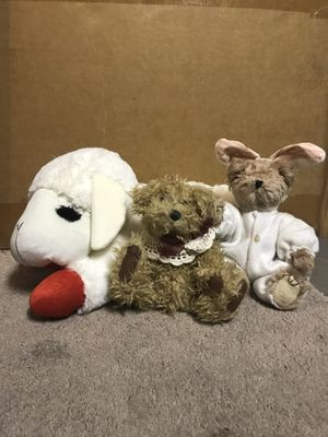 Stuffed animals $5 for all for Sale in Las Vegas, NV