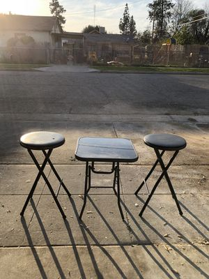 Stools table for Sale in Fresno, CA