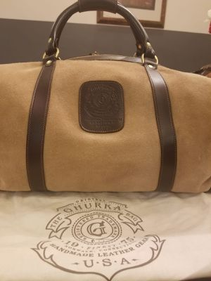 Ghurka Suede Travel Duffel Bag for Sale in Washington, DC
