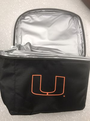 Miami hurricanes university insulated cooler for Sale in West Palm Beach, FL
