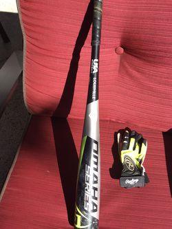 "Louisville 30"" Baseball Bat And Rawlings Gloves for Sale in Laguna Niguel,  CA"