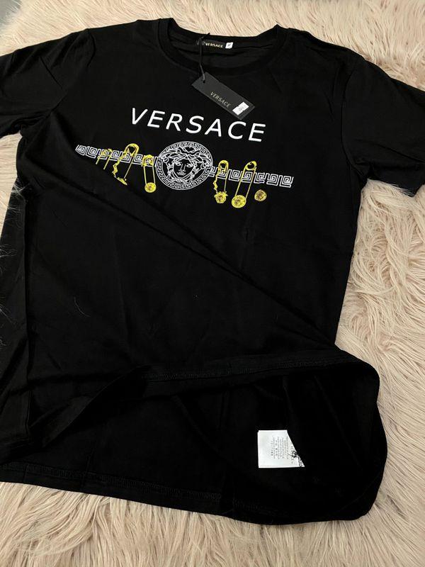 Versace Couturier Cotton T Shirt Men Size L