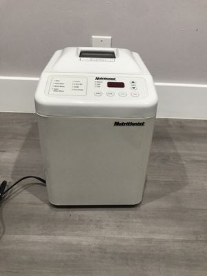 Nutritionist bread maker for Sale in Margate, FL