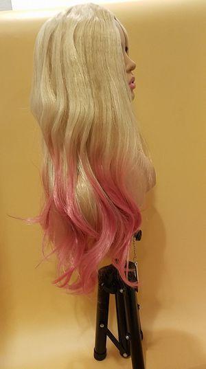 Long Pink Wavy Wig for Sale in Hudson, FL