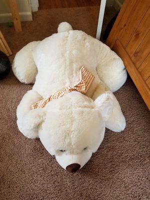 Giant stuffed polar bear for Sale in Jacksonville, AR