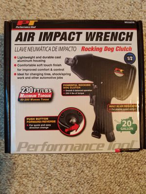 Performance Tool M558DB 1/2-Inch Air Impact Wrench for Sale in Nashville, TN