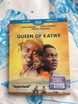Disney Queen of Katwe Blu ray only for Sale in Tampa, FL