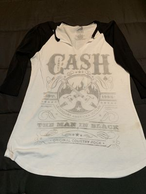 Johnny Cash baseball rock n roll tee for Sale in Riverview, FL
