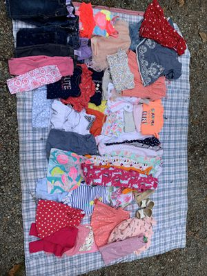 Baby girl clothes size 0-12 months for Sale in Seattle, WA