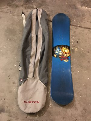 Snowboard and snowboard bag for Sale in Henderson, NV