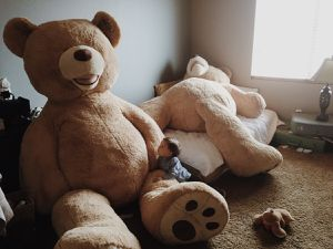 93 inch Plush Teddy Bear for Sale in St. Louis, MO