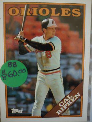 Carl Ripken Baseball Card for Sale in Seattle, WA