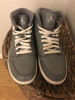 Air Jordan 1 shoes - Mid - Cool Grey - Size 10. for Sale in Pomona, CA