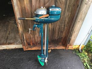 Neptune mighty mite 1.7 hp outboard motor for Sale in Gainesville, VA