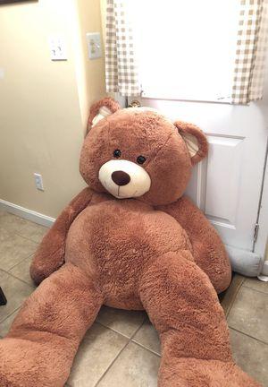 Life Size teddy bear 6 feet for Sale in Cranston, RI
