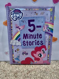 MY LITTLE PONY BOOK! PUFFY COVER BOARD BOOK! NEW 8x11 Inches for Sale in Modesto,  CA