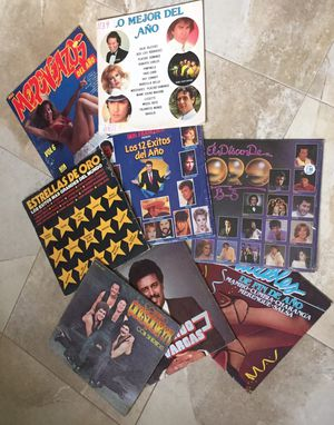 Various Latin/Spanish records for sale! for Sale in Miami, FL