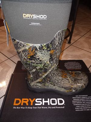 DRYSHOD WATERPROOF INSULATED,,BREATHABLE TEEBEEDEE for Sale in San Bernardino, CA