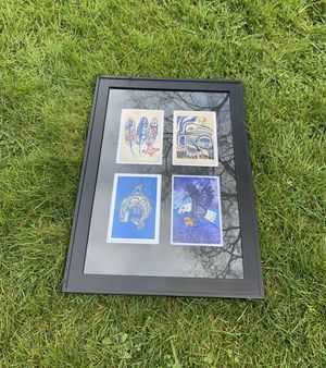 Native American Art with Four Squares for Sale in Everett, WA
