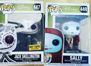 Nightmare before Christmas funko pop set for Sale in El Paso, TX