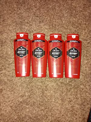 Old spice body wash 4×$12 for Sale in Anaheim, CA
