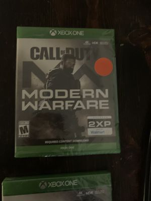 Call of Duty Modern Warfare XBOX 1 New game for Sale in Sanger, CA