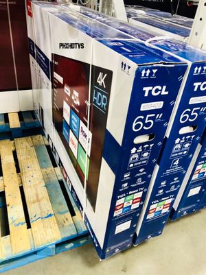 "65"" 4K TCL ROKU UHD HDR SMART LED TV 2160P TAX ALREADY INCLUDED FREE LOCAL DELIVERY AVAILABLE TODAY!! for Sale in Phoenix, AZ"