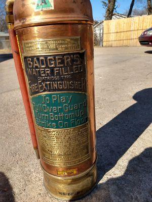 Vintage fire extinguser for Sale in Wichita, KS
