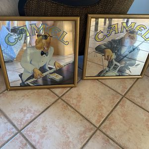 Classy Classic Cool Camel Joe Mirrors for Sale in Akron, OH
