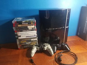 500gb ps3 fat for Sale in Charlotte, NC