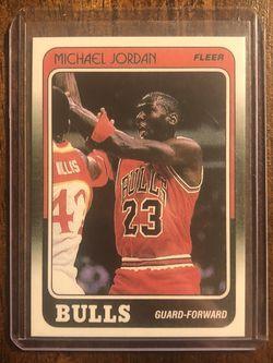 1988-89 Fleer Michael Jordan for Sale in Fort Worth,  TX