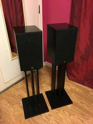 Monitor Audio Speakers with stands for Sale in Chicago, IL