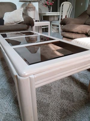 Coffee table and two end tables for Sale in Virginia Beach, VA