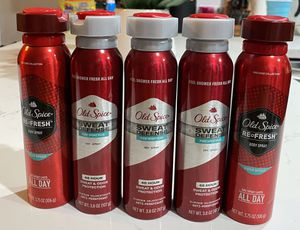 Old Spice Sweat Defense Pure Sport Plus Dry Spray Antiperspirant and Deodorant for Men, 3.8 Oz. for Sale in Los Angeles, CA