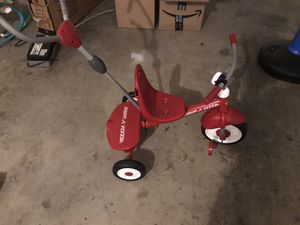 Radio flyer kids 3 wheel bike with storage in the back for Sale in Vernon, CT