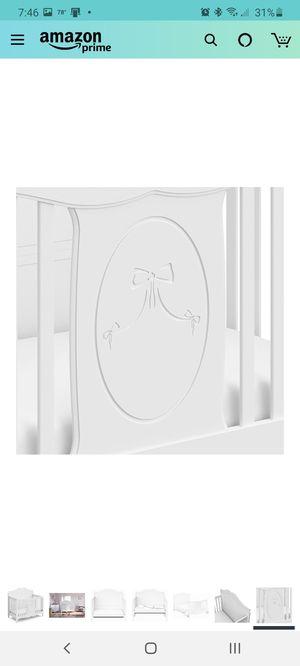 White Crib 4in1 for Sale in Martinsburg, WV