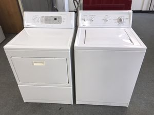 Kenmore • Washer & Dryer • there in perfect working Oder • clean 🧼 for Sale in Denver, CO