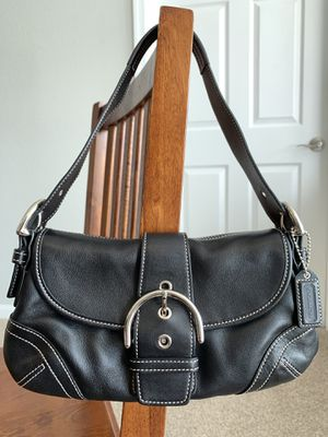Authentic Coach Soho Hobo Bag with Buckle Flap Closure for Sale in Annapolis, MD