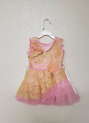 Pink floral baby girl dress 1T-2T for Sale in Glendale, AZ